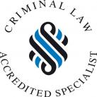 Criminal Law Accredited Specialist Logo